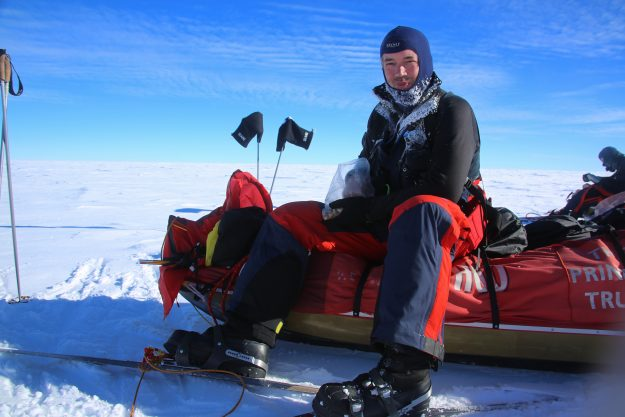 Justin Packshaw South Pole
